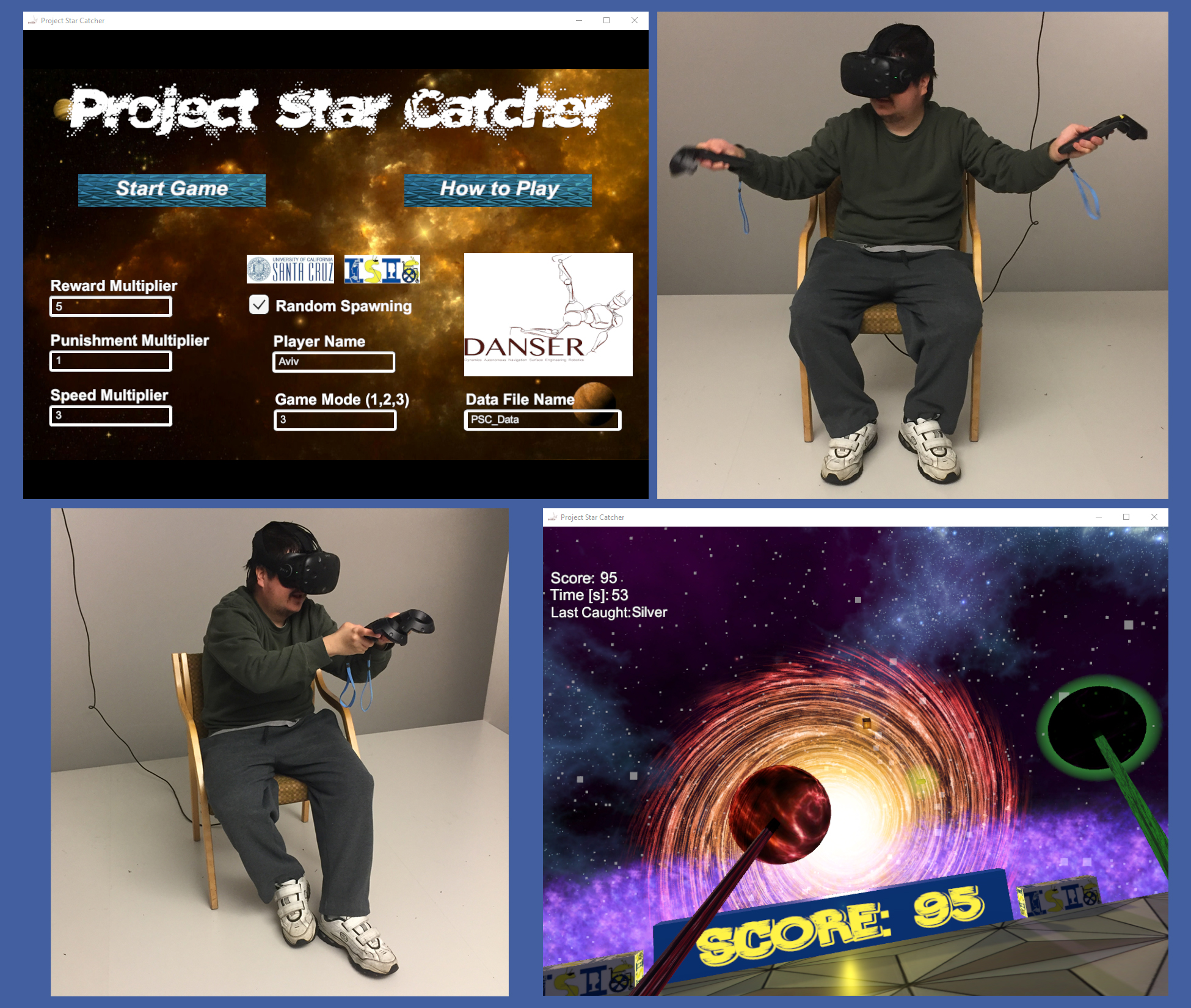 2017 Winner: Project Star Catcher: Virtual Reality Game for